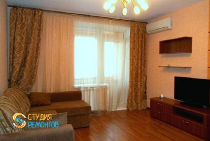 Косметический ремонт гостиной в двухкомнатной квартире 45 кв.м.