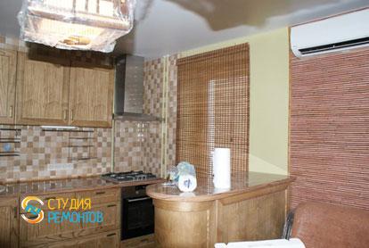 Косметический ремонт кухни в двухкомнатной квартире 45 кв.м.