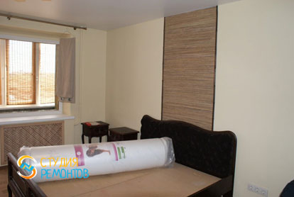 Косметический ремонт спальни в двухкомнатной квартире 45 кв.м. фото-1