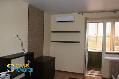 Косметический ремонт спальни в двухкомнатной квартире 45 кв.м. фото-2