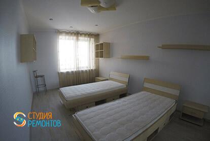 Пример евроремонта комнаты для детей в трехкомнатной квартире 75 кв.м.