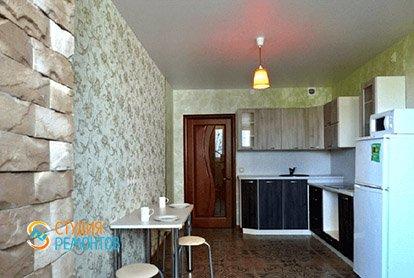 Пример капитального ремонта кухни в трешке 65 м2