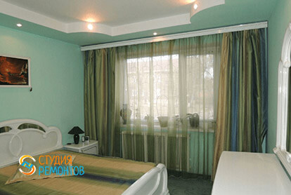 Пример капитального ремонта спальни в трешке 65 м2