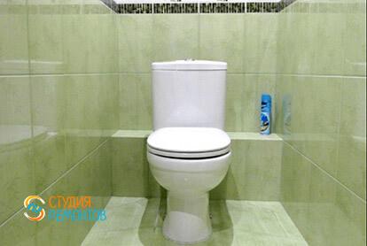 Пример капитального ремонта туалета в трешке 65 м2