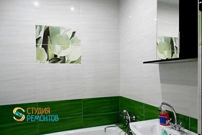 Пример капитального ремонта ванной в трешке 65 м2