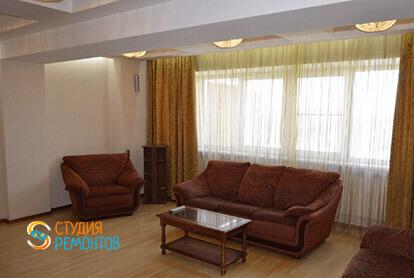 Пример капремонта комнаты в 3-х комнатной квартире 72 кв.м.