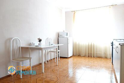Пример капремонта кухни в 3-х комнатной квартире 72 кв.м.