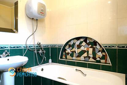Пример капремонта санузла в 3-х комнатной квартире 72 кв.м.