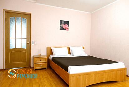 Пример капремонта спальни в 3-х комнатной квартире 72 кв.м.