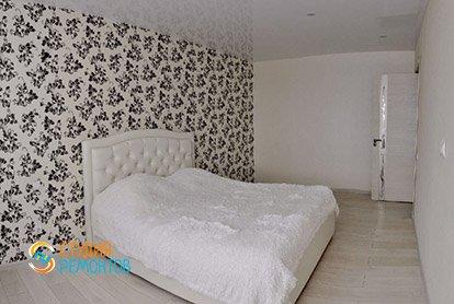 Пример капитального ремонта спальни в 4-х комнатной квартире 76 кв.м.