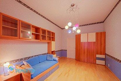 Пример ремонта детской в четырехкомнатной квартире 93 м2