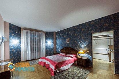 Пример ремонта спальни в 5-комнатной квартире 110 кв.м.