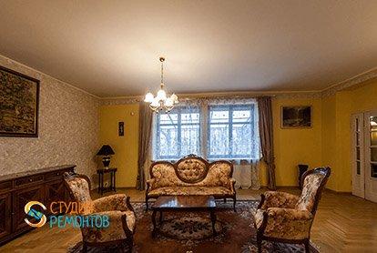 Пример ремонта столовой в 5-комнатной квартире 110 кв.м.