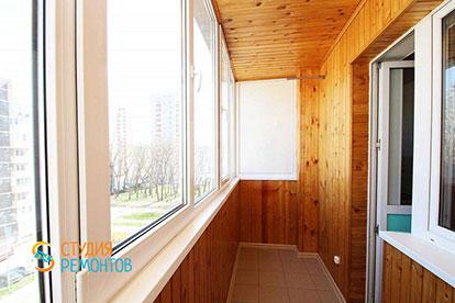 Капитальный ремонт балкона 3,5 кв.м.