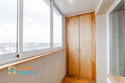 Ремонт балкона под ключ 2,5 кв.м.