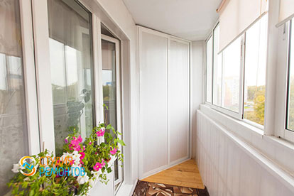 Ремонт балкона под ключ 3,5 кв.м.