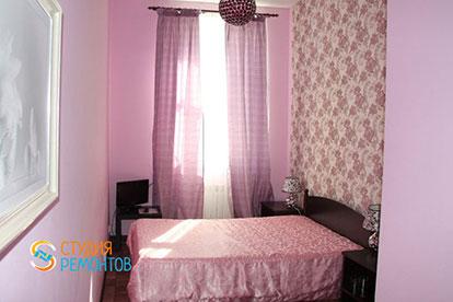 Капитальный ремонт спальни 7 кв.м.