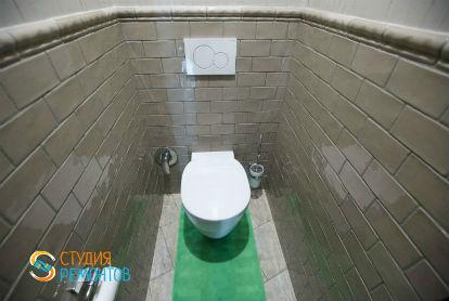 Евроремонт туалета 1,4 кв.м.