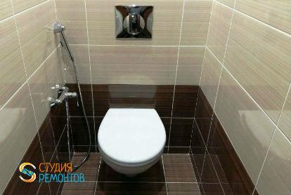 Евроремонт туалета 1,6 кв.м.