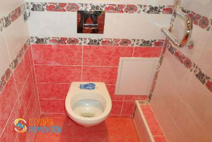 Капитальный ремонт туалета 1,5 кв.м.
