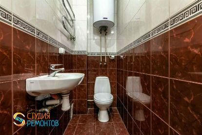 Капитальный ремонт туалета 3 кв.м.