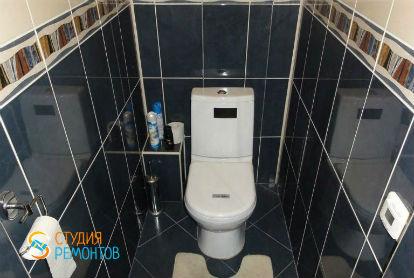 Ремонт туалета под ключ 2,3 кв.м.