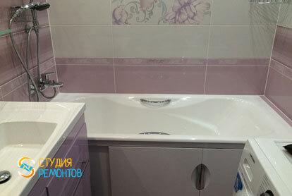 Пример евроремонта ванной 4,5 кв.м.