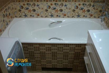 Пример евроремонта ванной 4,5 м2