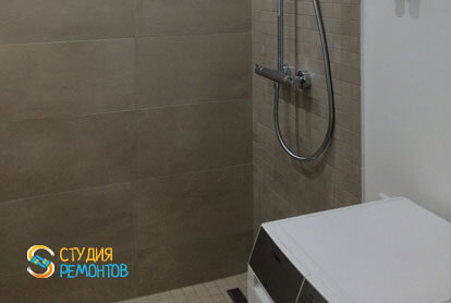 Пример евроремонта ванной 5 кв.м.