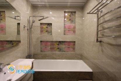 Пример евроремонта ванной 6 кв.м.