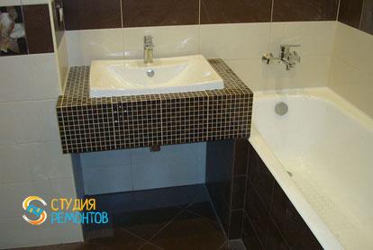 Пример евроремонта ванной комнаты 5,5 м2