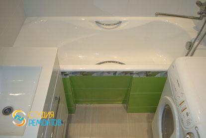 Пример капитального ремонта ванной 4,5 кв.м.