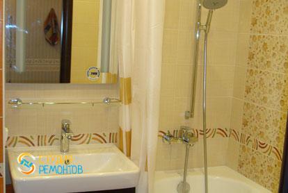 Пример капитального ремонта ванной 5 кв.м.