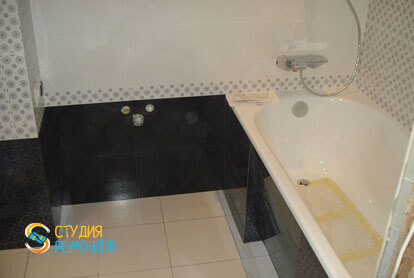 Пример капремонта ванной 5 м2