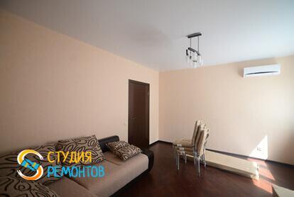 Ремонт комнаты под ключ в однокомнатной квартире 41 кв.м.