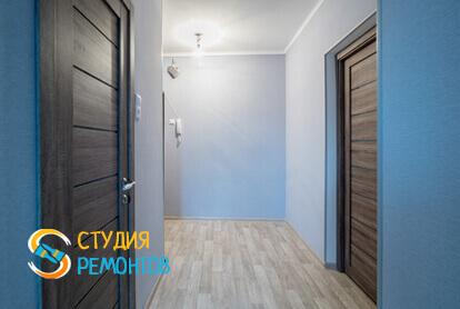 Ремонт коридора под ключ в однокомнатной квартире 45 кв.м.