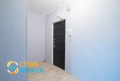 Ремонт коридора под ключ в однокомнатной квартире 45 кв.м. фото-2