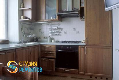 Ремонт кухни под ключ в однокомнатной квартире 41 кв.м.