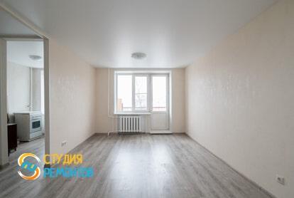 Ремонт жилой комнаты под ключ в однокомнатной квартире 42 кв.м.