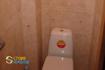 Капитальный ремонт туалета в однокомнатной хрущевке 31 кв.м.