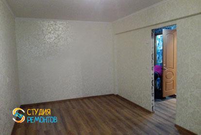 Косметический ремонт комнаты в однокомнатной хрущевке 39 кв.м.