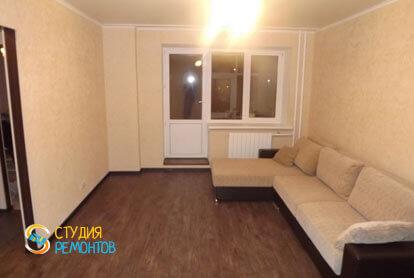 Ремонт комнаты в однокомнатной хрущевке 34 кв.м. под ключ