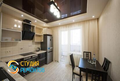 Капитальный ремонт кухни в однокомнатной квартире 35 кв.м.