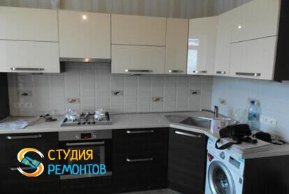 Капитальный ремонт кухни в однокомнатной квартире 40,1 кв.м.