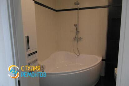 Капитальный ремонт санузла в однокомнатной квартире 35 кв.м. фото-1
