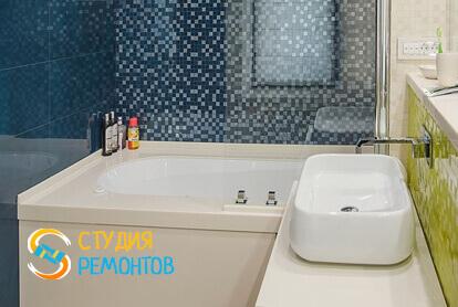 Капитальный ремонт санузла в однокомнатной квартире 40,1 кв.м.