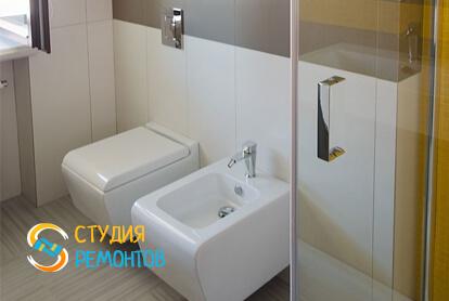 Капитальный ремонт санузла в однокомнатной квартире 43,8 кв.м. фото-2