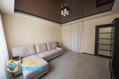 Капитальный ремонт спальни в однокомнатной квартире 35 кв.м. фото-1