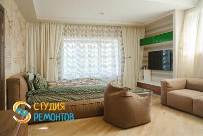 Капитальный ремонт спальни в однокомнатной квартире 40,1 кв.м.
