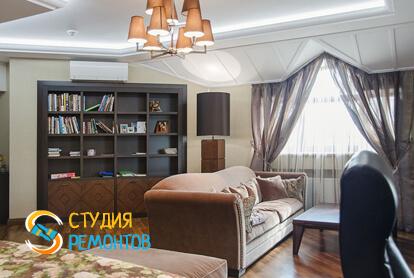 Капитальный ремонт спальни в однокомнатной квартире 43,8 кв.м. фото-1